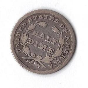 1837seatedlibertyhalfdime#2